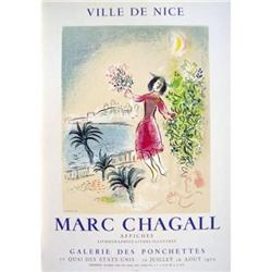 Chagall   Bay of Nice, 1970 #2376212