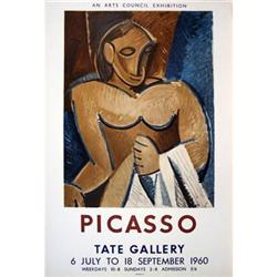 Picasso Pablo Tate Gallery, 1960 Lithograph#2376216