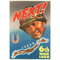Bingham  NEXT! Offset Lithograph World War II#2376226