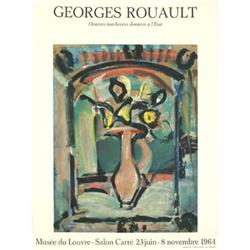 Rouault Georges Louvre 1964 Lithograph #2376228
