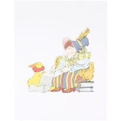 Sendak  Signed  Original Lithograph #2376240
