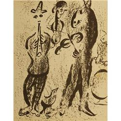 "Chagall Marc ""Itinerant Players"" Lithograph #2376249"