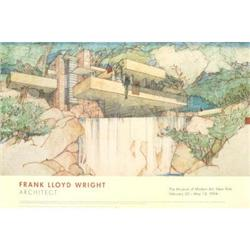 Frank Lloyd Wright Moma 1994 Offset Lithograph #2376319