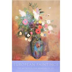 Odile Redon Bouquet of Flowers Offset#2376337