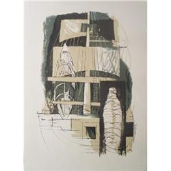 Benton Spruance The Delight Lithograph #2376389