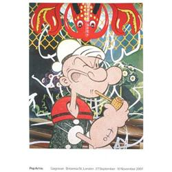 Jeff Koons Popeye Offset Lithograph #2376399