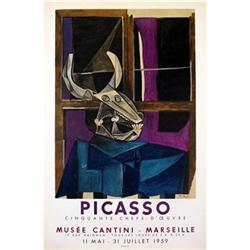 Pablo Picasso Musee Cantini, 1959 Stone #2376414