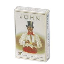 VINTAGE JOHN CIGARROS BOX / BLACK MAN 1930S #2376653