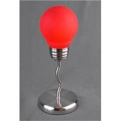 RED LIGHTBULB DESK LAMP / ART DECO NEW LIGHTING#2376673