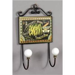 BUTTERFLY BRAND KITCHEN WALL HOOK PLAQUE  #2376692