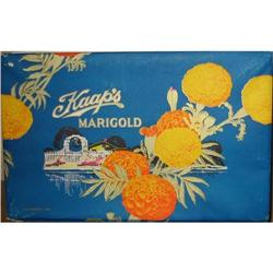 old vintage MARIGOLD CANDIES CANDY BOX ~ 1930s #2376849