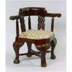 DOLL HOUSE VICTORIAN CHAIR / NEW #2377198
