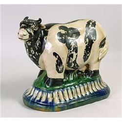 PORCELAIN COW STATUE FIGURE #2377250