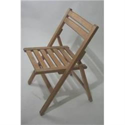 VINTAGE WOOD SLAT CHAIR / 1940S ENGLAND #2377255