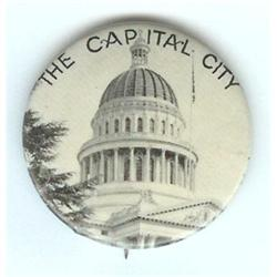 VINTAGE SACRAMENTO CAPITAL CITY 1930S PIN #2377267