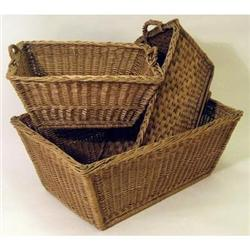 ANTIQUE FRENCH MARKET BASKET  #2377279
