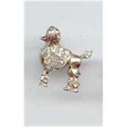 SALE Cool Poodle Pin tiny #2377288
