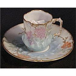 LS&S Limoges Antique Demi or Demi-tasse Cup and#2377447