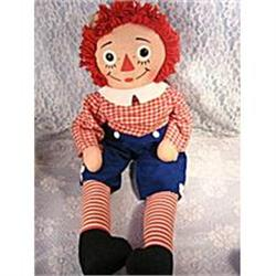"""Vintage Large 32"""" Raggedy Andy by Knickerbocker#2377469"""