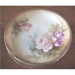 Set of six R.S.Germany rose dessert plates #2377597