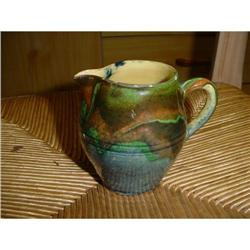 French Jaspee pitcher jug from Savoie #2377621