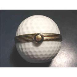 Authentic French Golf Limoges box  #2377626