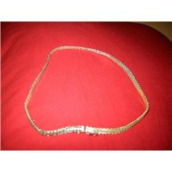 "Sterling Silver ""Premex"" decorated Chain! #2377637"