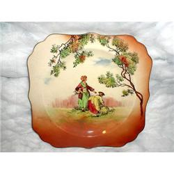 """ROYAL DOULTON """"THE GLEANERS"""" PLATE - MARKED #2377653"""