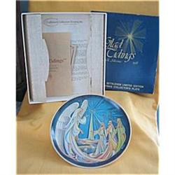 1978 Glad Tidings Christmas Plate by Robert #2377875