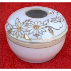 1891-1921 NIPPON PORCELAIN HAIR RECEIVER WITH #2377893