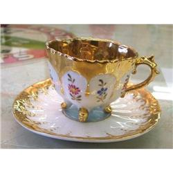 1900s DAINTY MINIATURE TOY-SIZE CUP & SAUCER #2377908
