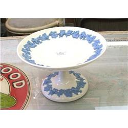 WEDGWOOD EMBOSSED QUEENS WARE COMPOTE #2377918