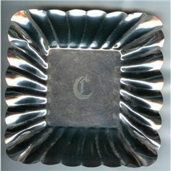 Sterling Server. Small dish fluted #2377937