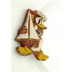 Old  Wood Donald Duck Pin  #2378147
