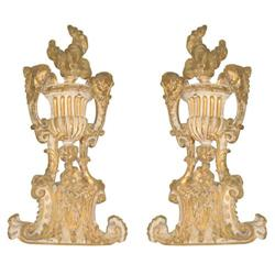 Neoclassical Painted and Parcel Gilt #2392831