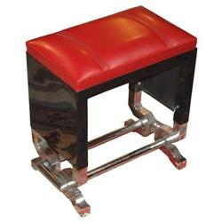 Jacques Adnet Designed  -  Red Leather #2392834
