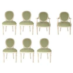 Neoclassical C. 1940's  Dining Room Chairs #2392836