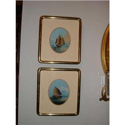 Pair of China trade oils on panel #2392907