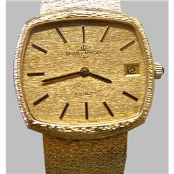 18kt Gold Baume Mercier Automatic Date Watch #2393242