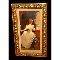 Giral Lerin Girl at Opera Oil Painting Listed #2393350