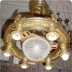 Empire 7 Lights  French Chandelier #2393401