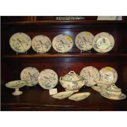 28 Piece Set of French Gien #2393499