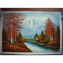 chinese oil painting #2379857