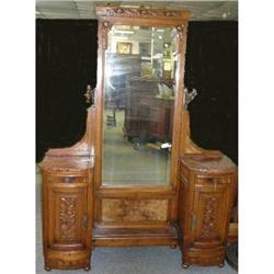 French Art Deco Vanity Dressing Table  #2379893