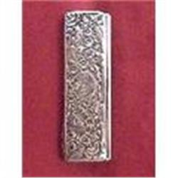 Antique Sterling silver Pocket Cigarette Box #2380162