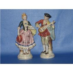 Occupied Japan porcelain couple figurines #2380166