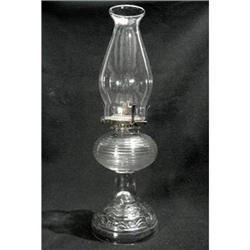 Glass Kerosene Lamp from 1900 #2380189