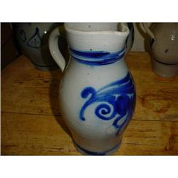 French jug pitcher from Alsace, circa 1920 #2380232