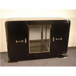 Sideboard  Art-deco  French Black Laquered #2378535