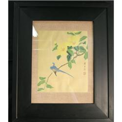Chinese painting cloth oriental asian floral #2378560